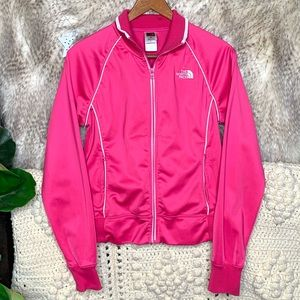 The North Face Pink Zip Jacket